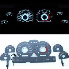 《BAR Autotech》 El Glow Indiglo Dash cluster Gauge For Ford Mustang V6 94-98 MPH