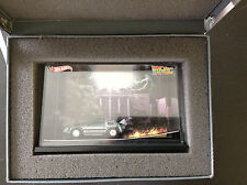 comic Con  2011 Mattel Hot Wheels Back to the Future DeLorean Diorama 1/64 Scale