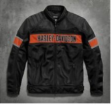 JACKET giacca HARLEY DAVIDSON NYLON ANORAK BIKER JACKE ETANCHE 98111-16vm