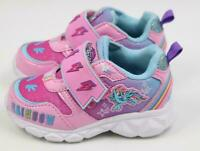NEW MY LITTLE PONY LIGHTED STRAP PURPLE PINK ATHLETIC SNEAKERS TODDLER GIRL 11