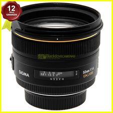 Sigma 50mm f1,4 DG HSM obiettivo full frame per fotocamere reflex Nikon AF usato