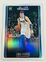 LUKA DONCIC ROOKIE 2018 CHRONICLES PANINI STUDIO DALLAS MAVERICKS