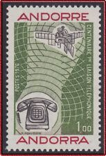 1976 ANDORRE N°252** Communication téléphonique TELEPHONE,  French Andorra MNH