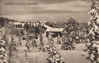 VINTAGE NORWAY HOTEL & SNOW Fjeldsaeter Turisthotel Trondhjem Trondheim POSTCARD