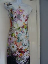 STUNNING  LADIES PAHSE EIGHT   SUMMER  SHIFT PENCIL    DRESS   SIZE  14
