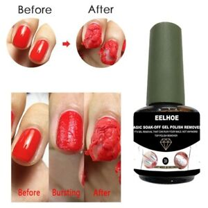 Professional Gel Polish Burst Magic Soak Off Remover Nail Cleaner Gel Nail Mani.