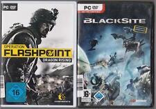 Operation FLASHPOINT DRAGON RISING + blacksite SHOOTER PC Giochi