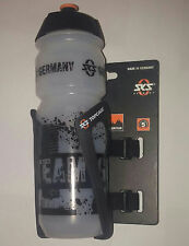 SET: SKS Topcage Flaschenhalter, Anywhere Adapter, Trinkflasche 750ml Team Ger.