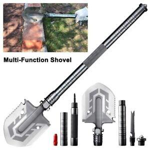 Outdoor Multi-purpose Shovel Garden Tools Portable Survival Folding Camping Tool