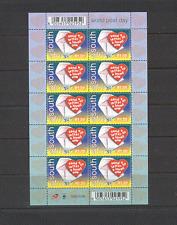 RSA 2000 World Post Day/LOVE/Heart 10v sht (n16875)
