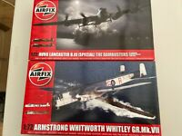 AIRFIX A09007 AVRO LANCASTER & A09009 ARMSTRONG WHITWORTH 1/72 KITS NEW