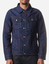 New G-Star Raw Slim Tailor Jacket Medium Aged Size L Upcycle Denim