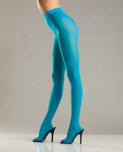 BE WICKED OPAQUE NYLON PANTYHOSE MULTIPLE COLORS Size OS & QN