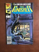 The Punisher #4 (1986) 8.0 VF Marvel Key Issue Copper Age Comic Book Newsstand