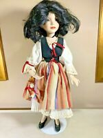 "Dianna Effner Limited Edition Porcelain 13"" Snow White Doll on Base"