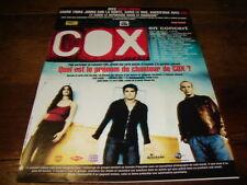 COX - Publicité de magazine QUEL EST LE PRENOM !!!!!!!!!!!!