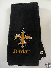 Personalized Embroidered Golf Bowling Workout Towel New Orleans Saints