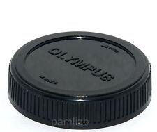Rear dust Cap ,  fits OLYMPUS 4/3  Evolt  DSLR  camera lens  , used