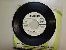 "MAGIC MUSHROOMS: Look In My Face 2:30-Never Let Go 2:30-U.S. 7"" 1967 Philips DJ"