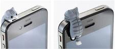 2x Cat 3.5mm Anti Dust Earphone Jack Plug Stopper Cap For Mobile phone Iphone