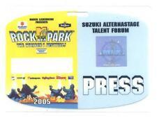 Rock im Park 2005 - alter Konzert-Pass Press eingeschweißtes Sammlerstück