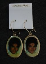 Michael Jackson Earrings Vintage Thriller Human Nature CD Over 30 yrs old!