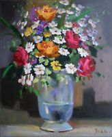 Quality Hand Painted Oil Painting Floral Still Life 20x24in