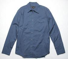 Hause of Howe Anything Goes Long Sleeve Shirt (M) Mood Inidigo N1F34EJ