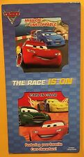 Disney CARS 2 Board Books New The Race Is On Free Shipping