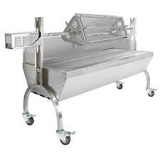 Hog Roast Machine BBQ Spit Roaster Rotisserie Grill Attachment Steel Motor 90kg