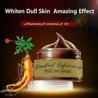 Herbal Refining Peel-Off Mask Facial Cleansing Blackhead Remover Mask Easy Use