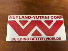 RED Weyland Yutani sticker decal alien Lv-426 Hive window wall laptop