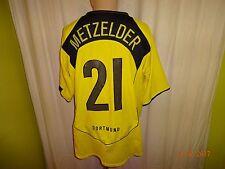 "Borussia dortmund nike hogar camiseta 2004/05 ""e-on"" + nº 21 metzelder talla XL Top"