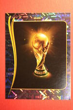 Panini BRASIL 2014 N. 6 THE CUP WITH BLACK BACK TOPMINT!!
