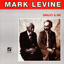 Mark Levine - Smiley & Me CD 1988 Concord Jazz [CCD-4352] U.S.A. ** NEW **