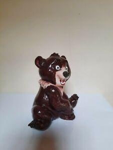 """Rare fève géante Disney"""" Frère des ours"""" Koda."""