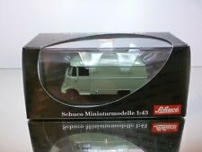 SCHUCO MERCEDES BENZ L319 VAN KASTENWAGEN - GREEN 1:43 - EXCELLENT IN BOX