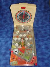 Vintage 1960s Marx Score-O-Meter Electric Pinball Machine Casino WORKS GREAT!