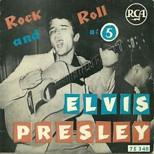 EP FRENCH biem  ELVIS PRESLEY  N°5  75348     1957