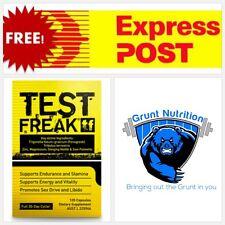 Pharmafreak Test Freak Testosterone Booster 120 Capsules Tribulus ZMA Prime T