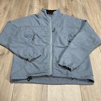 Ibex Men's Peak Climawool Softshell Full Zip Jacket Mens Size Small