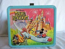 Aladdin Industries Vintage Lunchbox Walt Disney's Magic Kingdom 1979