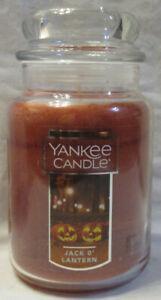 Yankee Candle Large Jar Candle 110-150 hrs 22 oz Halloween JACK O'LANTERN