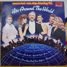 JAMES LAST NON STOP DANCING '82 HITS AROUND THE WORLD FRENCH LP