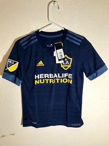 ADIDAS MLS TEAM JERSEY LOS ANGELES GALAXY BLUE YOUTH sz M