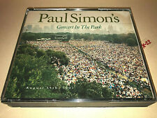 PAUL SIMON Concert in Park 23 Live hits CD Sounds of Silence Bridge Over Waters