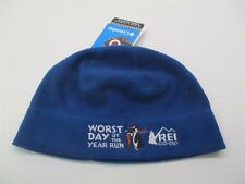 new REI Hat Men s Size S Heat Lining Lightweight Blue Fleece Thermal Beanie  A35 93e2ed242d24
