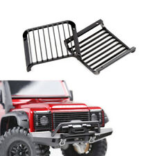 2pcs Metal Front Light Guards Grille for 1/10 RC Traxxas Trx4 Defender Crawler