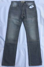 Guess Jeans Men Vermont Slim Tapered In Heather Gray Wash Size 32x32