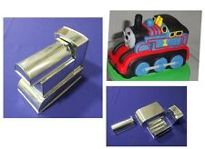 "Novelty Baking Tins - 3D Thomas The Train Cake Tin - 3"" Deep - 4 Part"